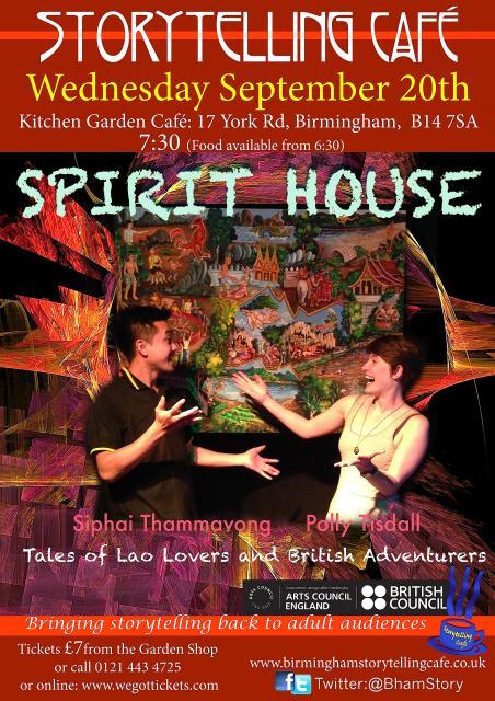 Birmingham Storytelling Cafe The Society For Storytelling